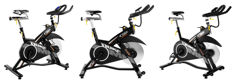Bicicleta de ciclismo indoor BH FITNESS Duke magnetic<br />
